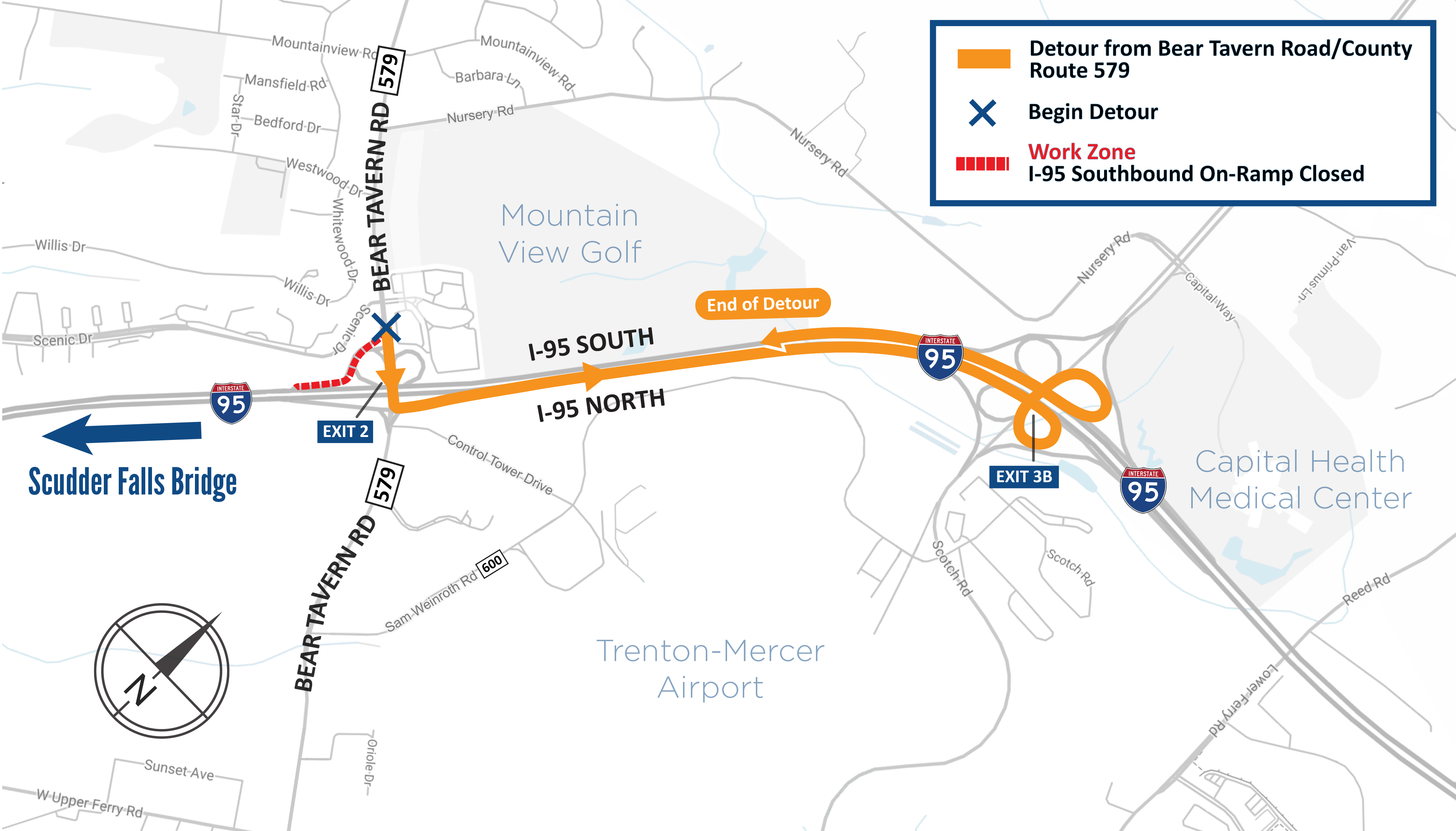 when the ramp is closed a posted detour . active alerts – drjtbc