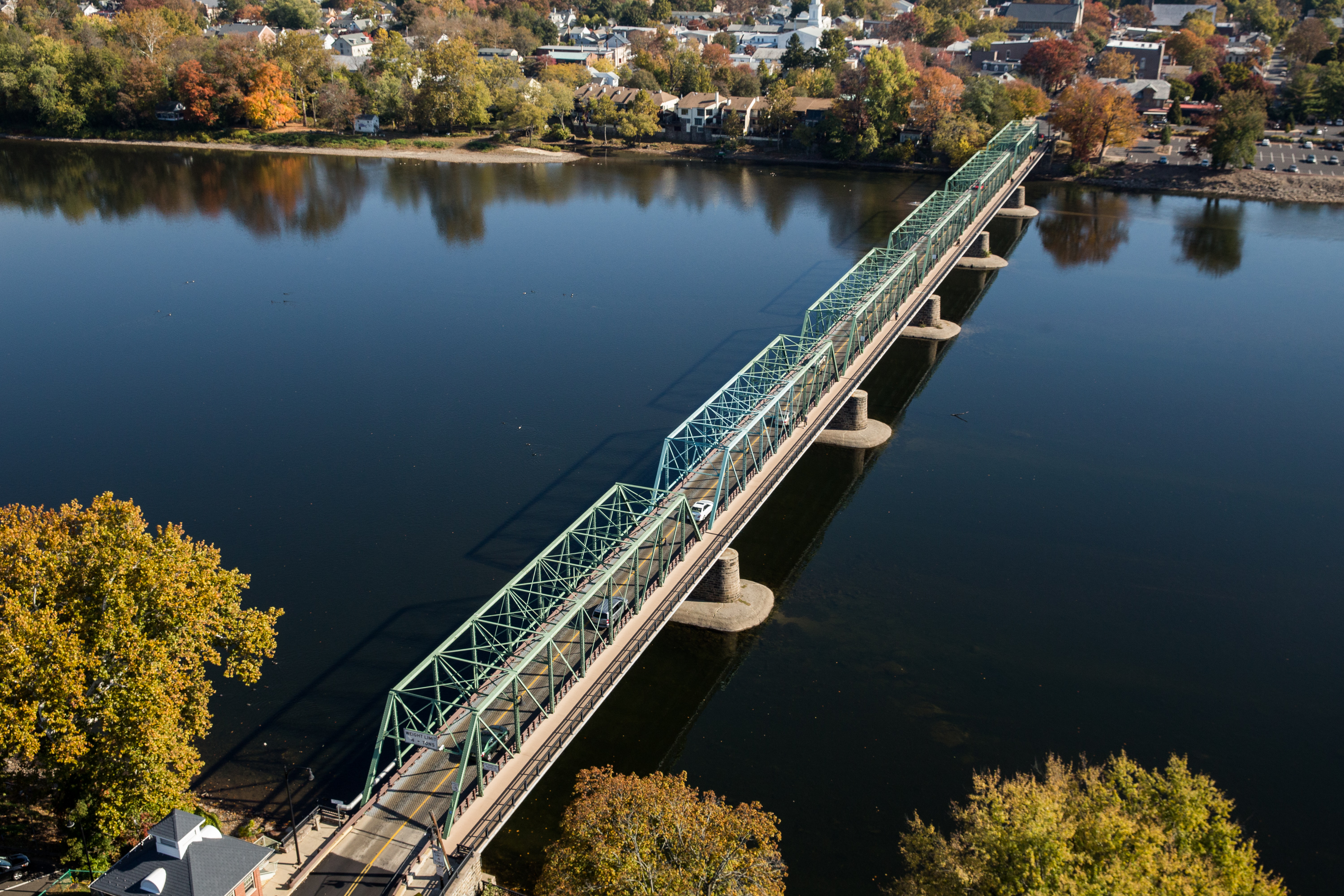 New Hope Lambertville Toll Supported Bridge Drjtbc